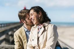 Séance couple reportage mariage lisieux belles photos naturelles